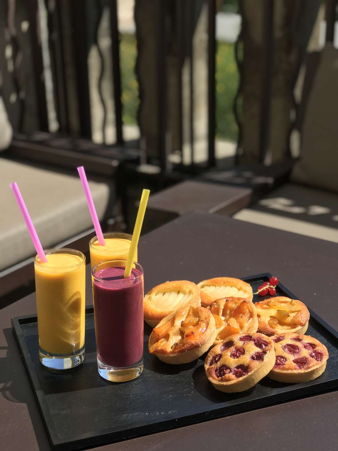 SMOOTHIES TARTELETTES